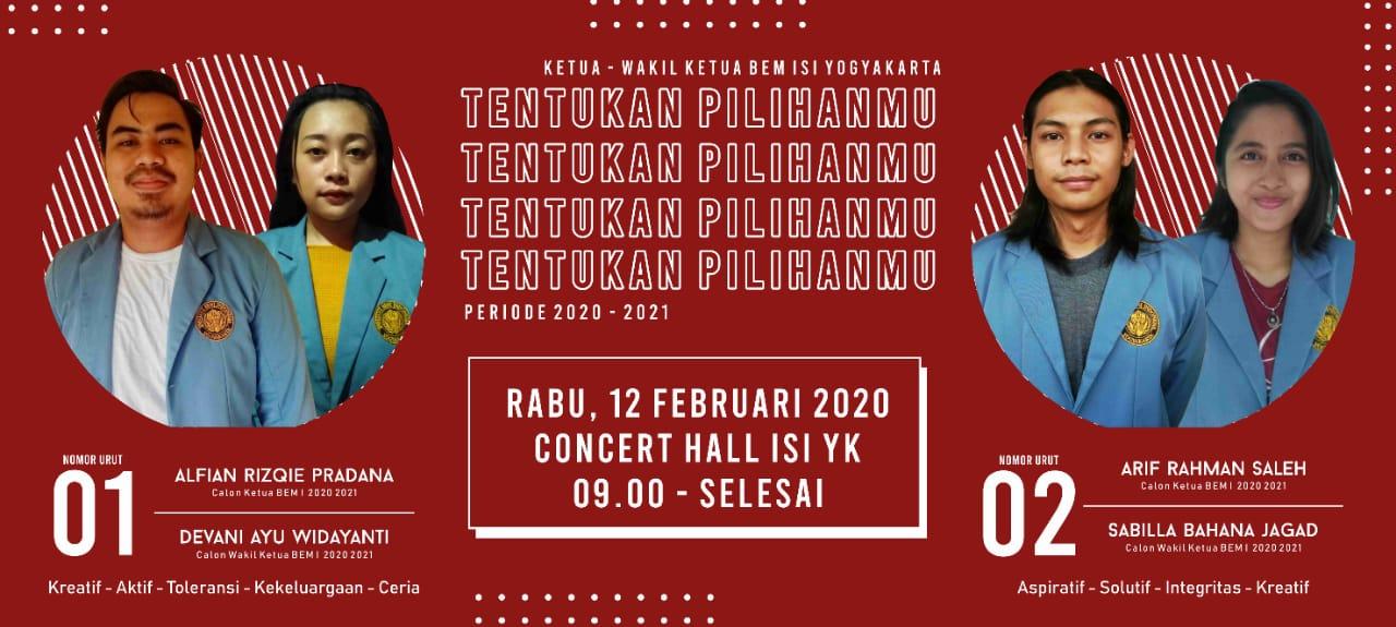 Polemik dalam Pemilu BEM ISI Yogyakarta
